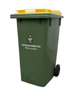 grønn beholder