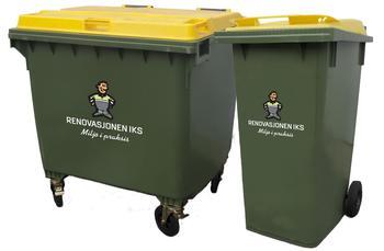 Grønne avfallsbeholdere