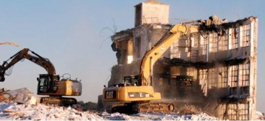 Riving av bygg