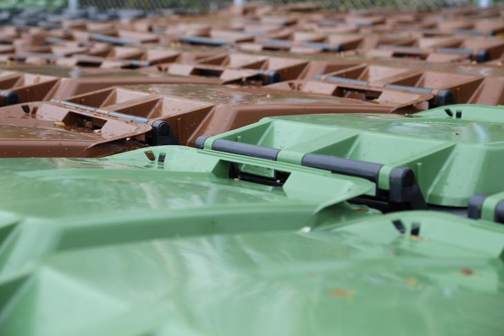 Søppelbeholdere til privatmarkedet